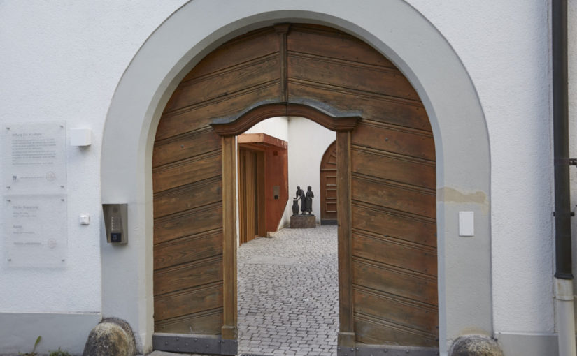 Empfang und Kirche wieder geöffnet