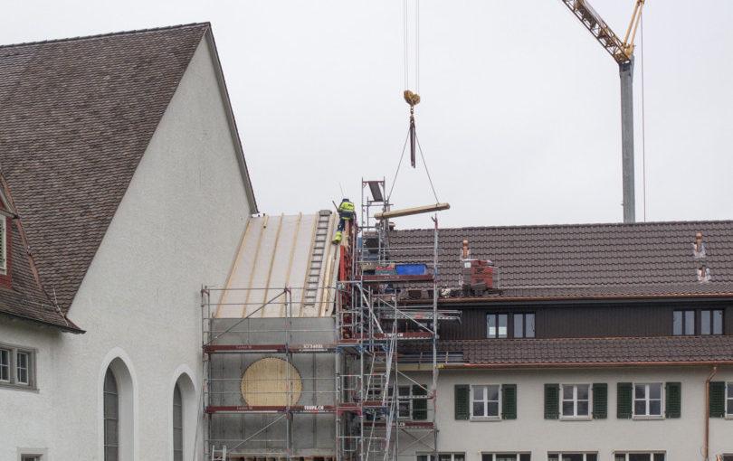 Das Benediktinische Zentrum wird im Februar bezogen