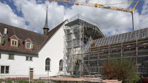 Radio-Sendung über die Zukunft des Klosters
